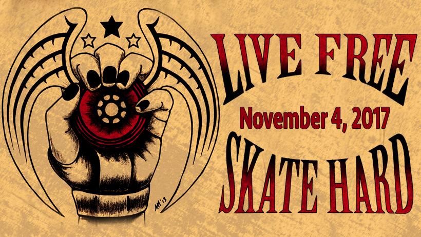 Live Free Skate Hard 2017cover